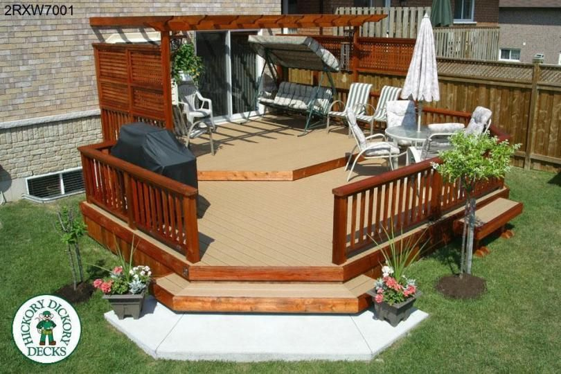 Decking Layout Ideas This Deck Plan Is For A Medium Size