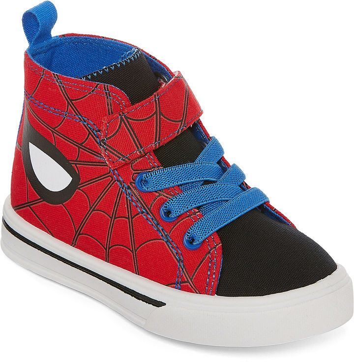 54e3aa5172d6 MARVEL Spiderman High Top Boys Sneakers - Toddler