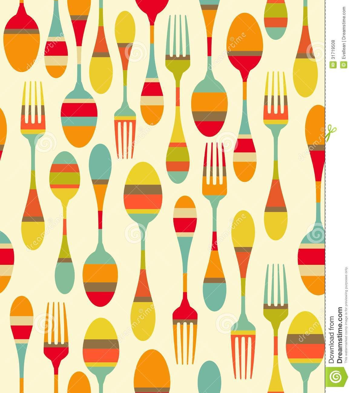 Vintage kitchen wallpaper patterns - Wallpaper Kitchen Retro Google Haku
