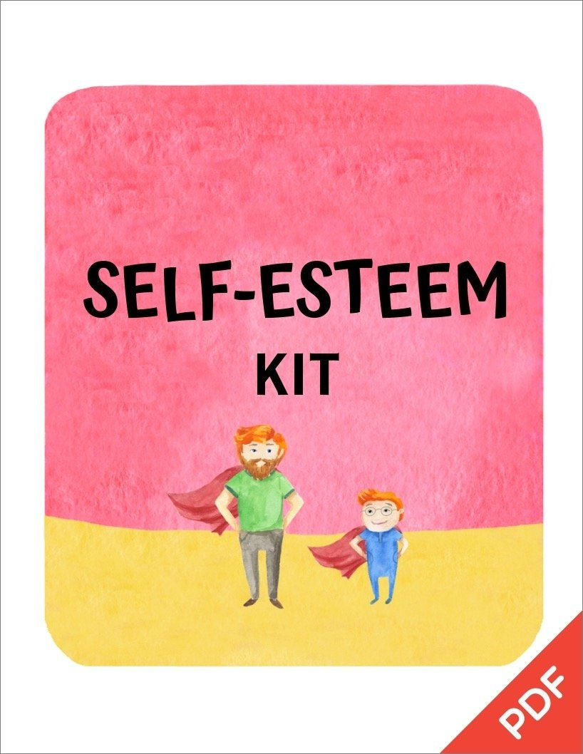 Confidence Self Esteem Kit Pdf Ages 5 11 Self Esteem Worksheets Self Esteem Activities Self Esteem Kids [ 1058 x 818 Pixel ]
