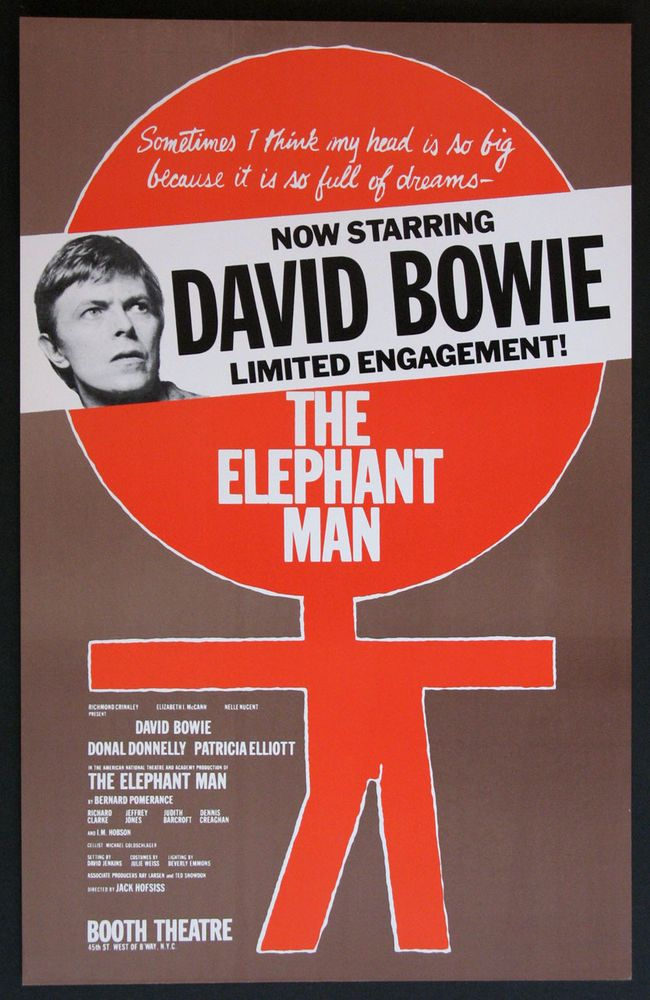 David Bowie forever: DAVID BOWIE - The Elephant Man Interview Special  (Hosted By Sir Tim Rice) + Plus an article by Kurt Loder