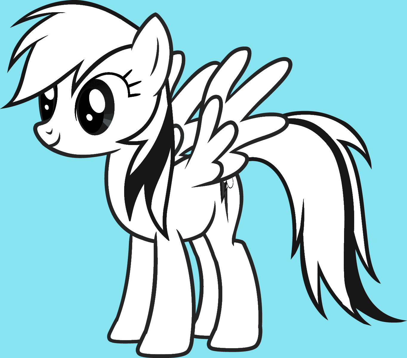 Mustangs My Little Pony Coloring My Little Pony Drawing Coloring Pages
