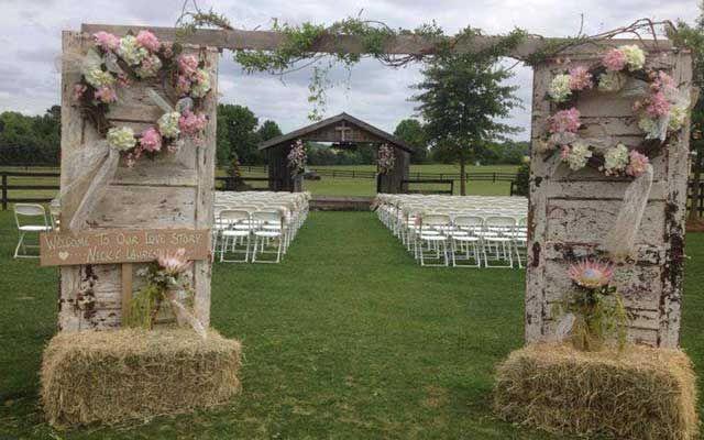 36 Fall Wedding Arch Ideas for Rustic Wedding - Deer Pearl Flowers & Decoración de bodas vintage - Decofilia.com   decoracion ... pezcame.com