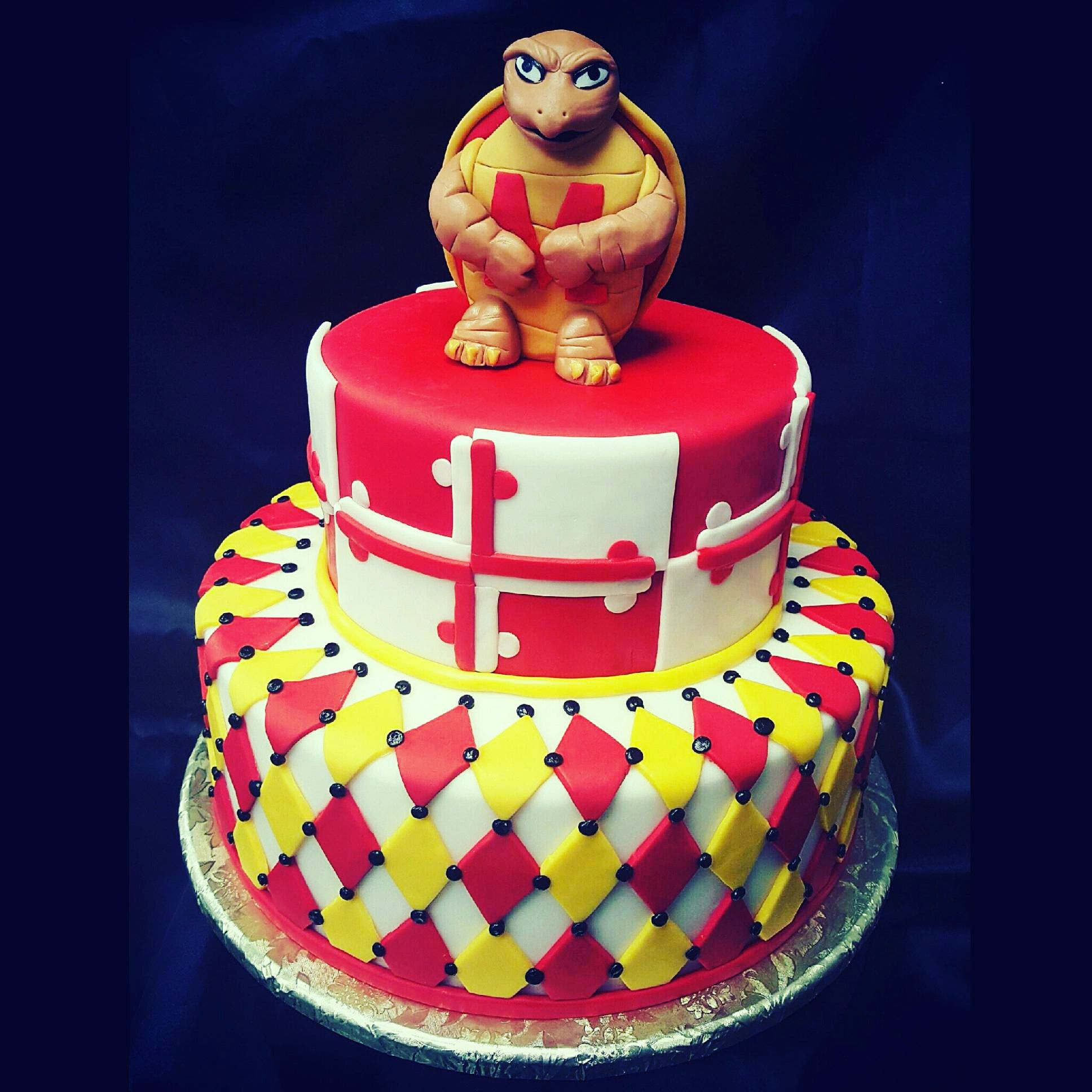 Maryland Terrapin Cake Specialty Cakes by SugarBakers Cakes