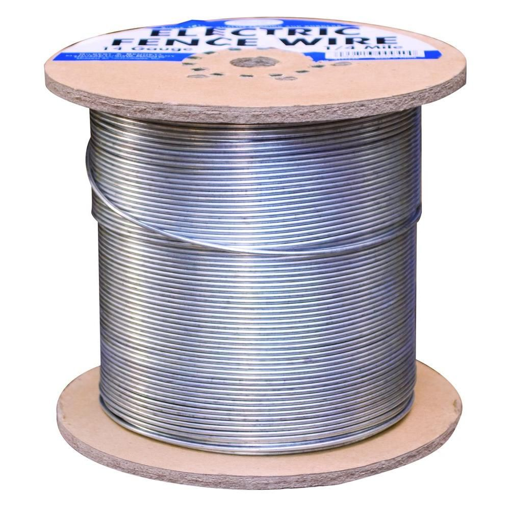 FARMGARD 1/4 Mile 14-Gauge Galvanized Electric Fence Wire | Gauges