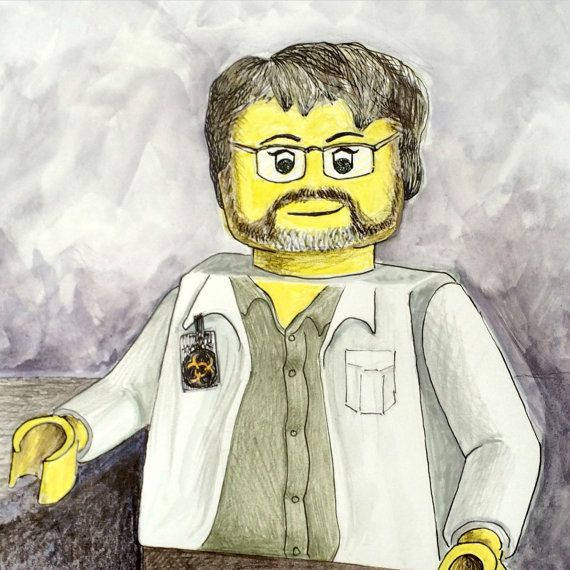 Lego Minifig Custom Portrait 5 X 7 Size Great Gift For Geeks