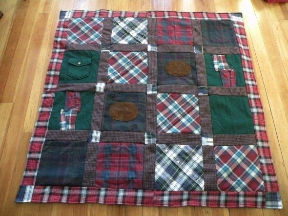 Quilts Made From Shirts