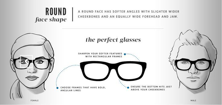Best Eyeglasses Frames to Fit Your Face Shape | Beauty and Hairstyle ...