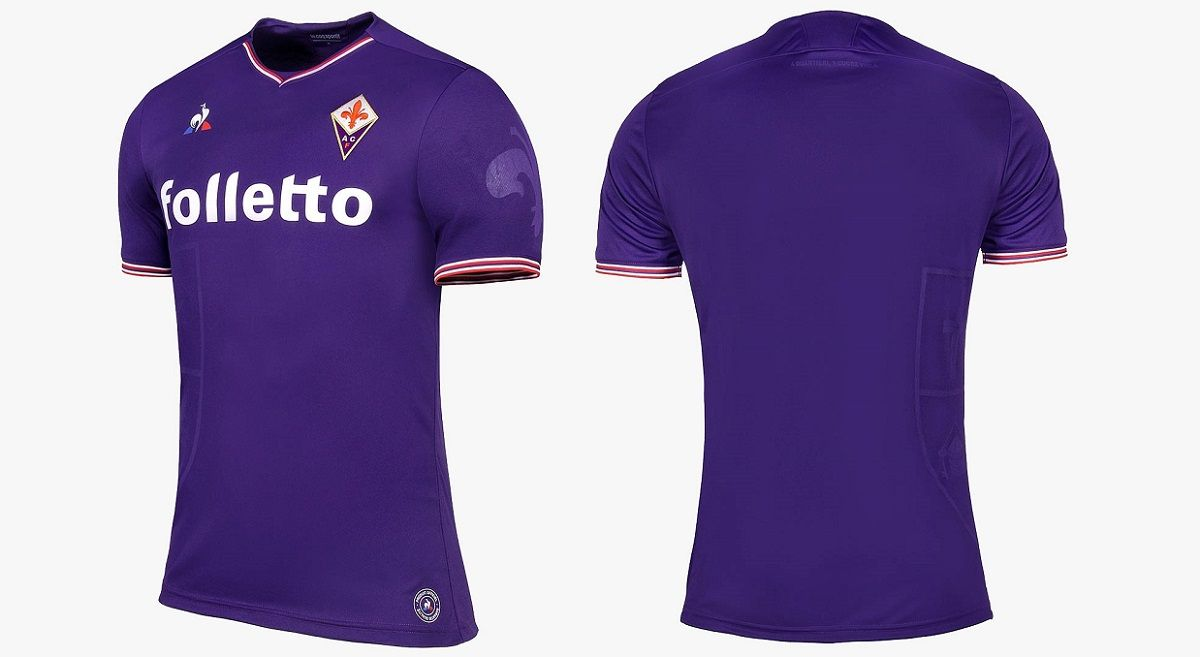 ec6d87f4cb Camisas da ACF Fiorentina 2017-2018 Le Coq Sportif | Uniformes ...
