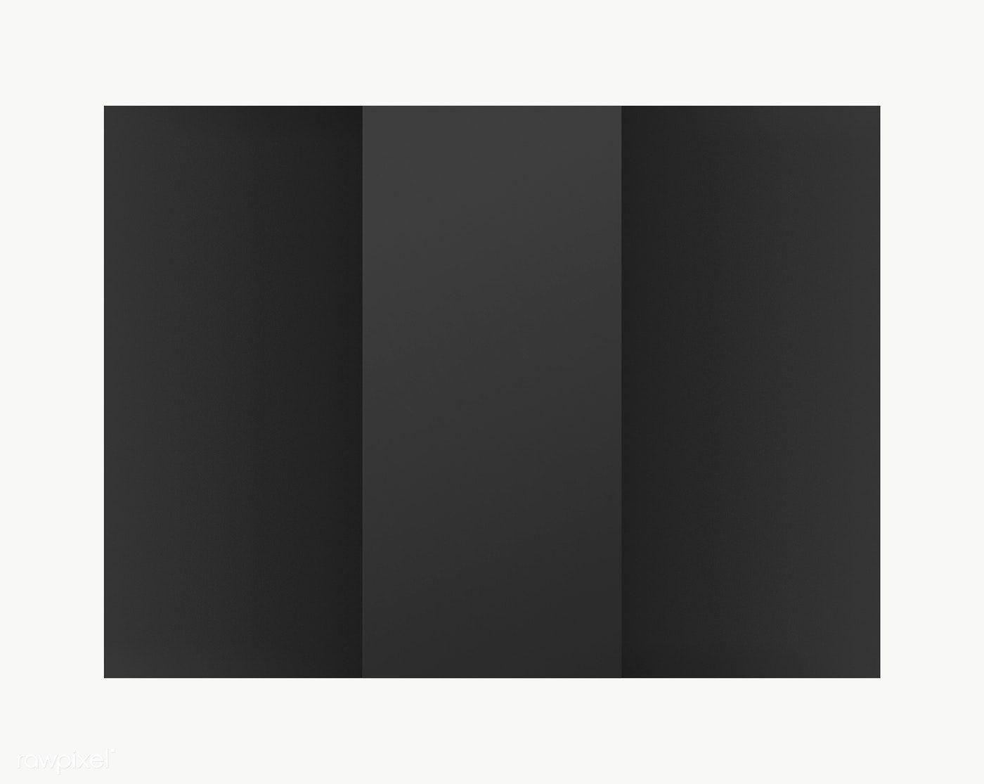 Download Premium Png Of Black Advertisement Brochure Transparent Png Free Brochure Design Business Card Design Simple Brochure Design Template