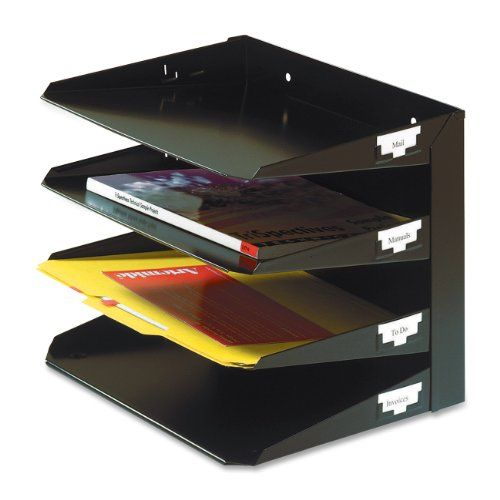 MMF Industries 4-Tier Letter-Size Horizontal Steel Desk Organizer, Black (264R4HBK) MMF Industries http://www.amazon.com/dp/B0006HWTW4/ref=cm_sw_r_pi_dp_lx8xwb0BBMB0W