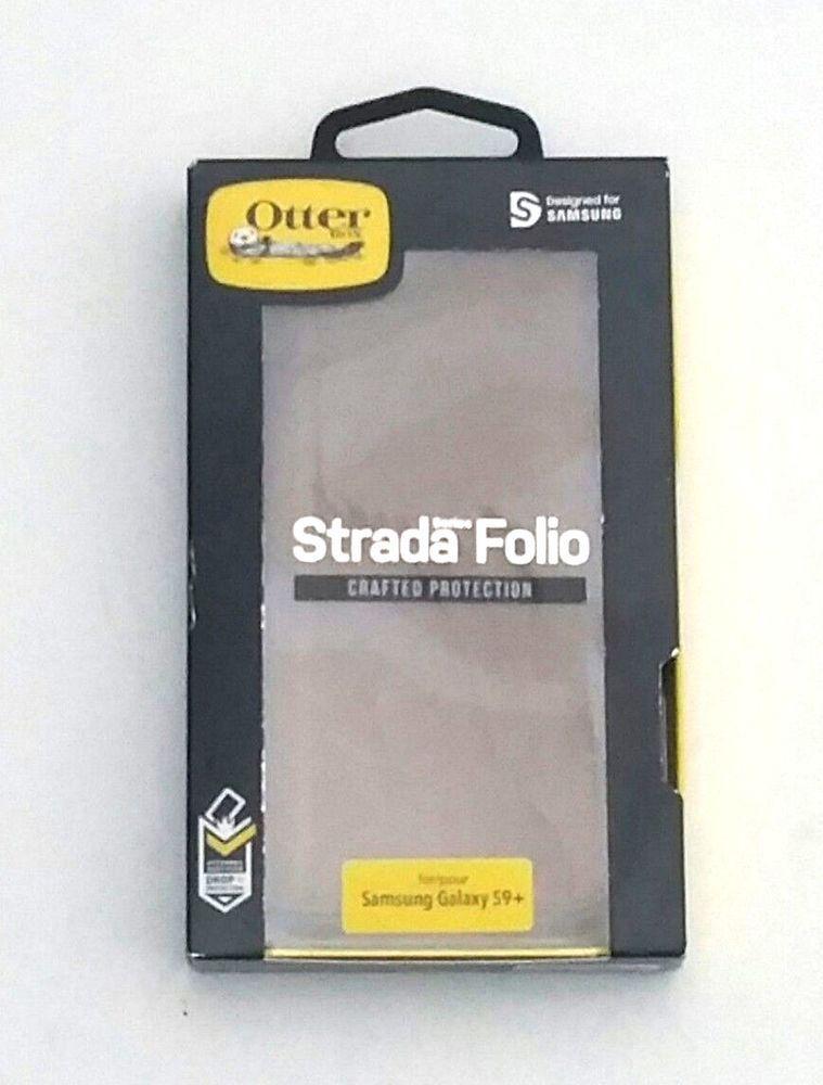 new arrival 339da e6c03 OtterBox Strada Folio Wallet Smartphone Case Samsung Galaxy S9+ ...