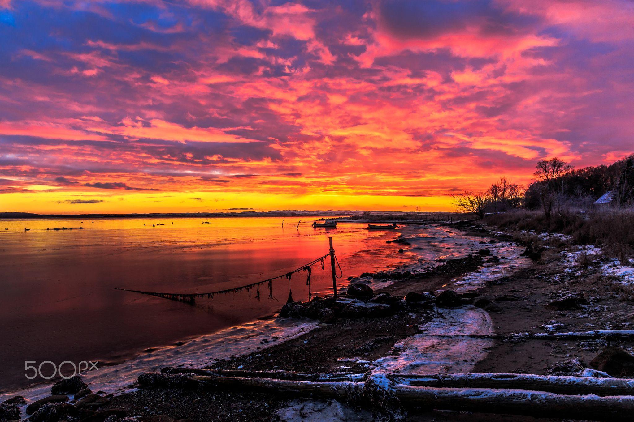 Havhusene Sunrise - Havhusene Sunrise A beautiful sunrise at Havhusene Gl. Løgten Denmark enjoy