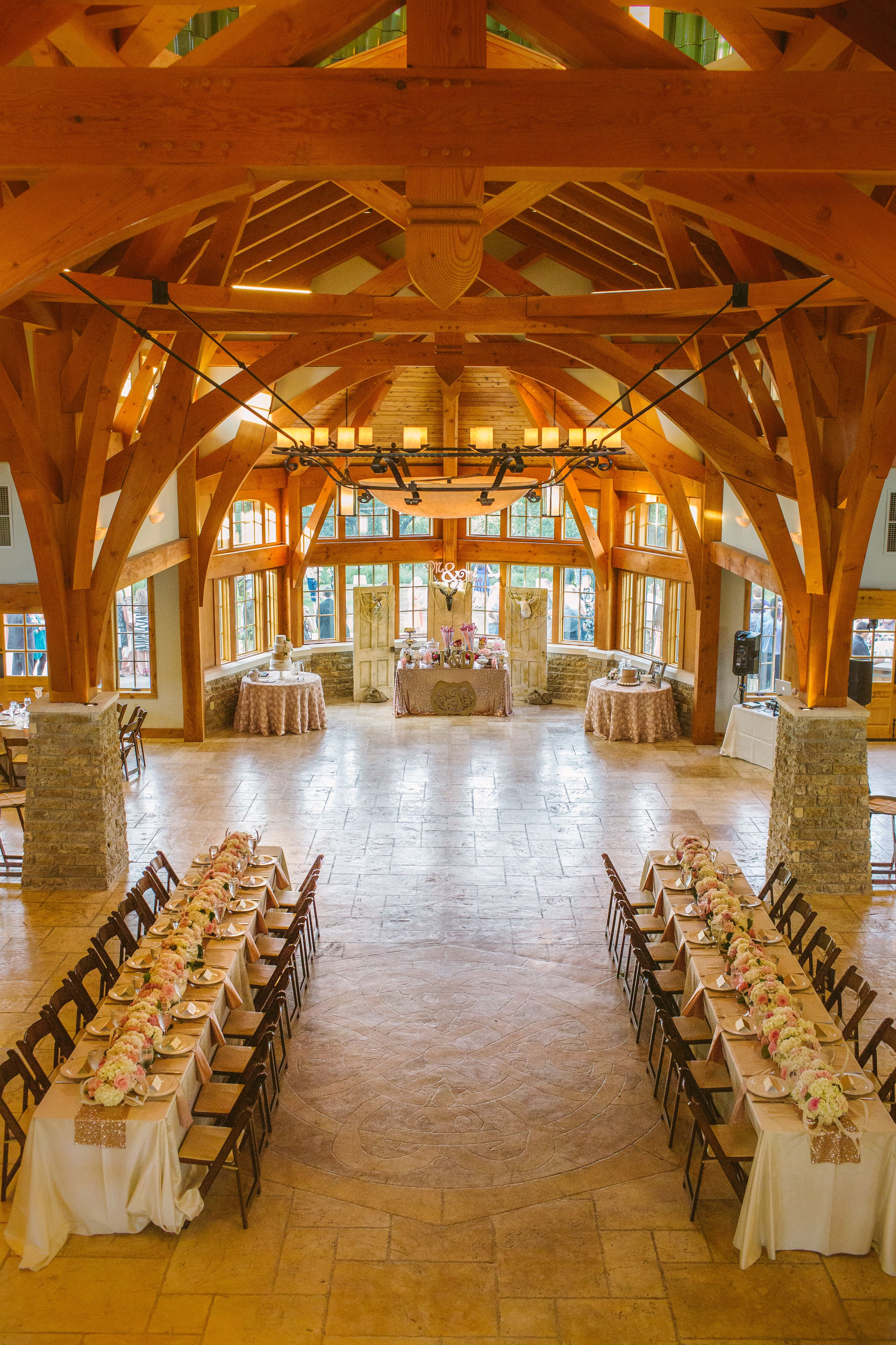 Beautiful setting for receptions and letting your guests