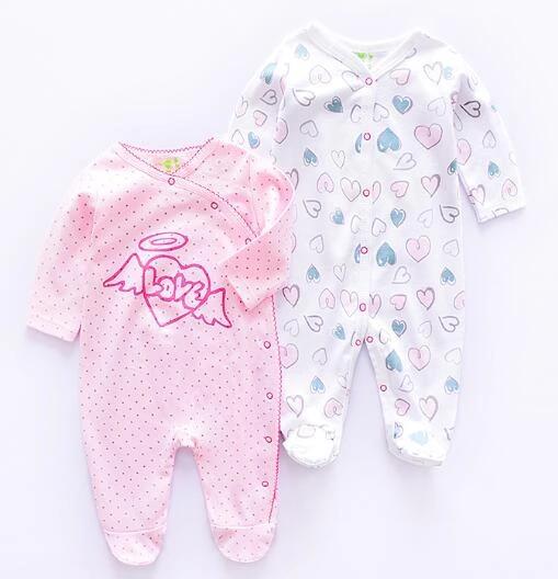Cartoon Long Sleeve Baby Rompers Newborn Baby Boy Girl Romper Bodysuit Jumpsuit