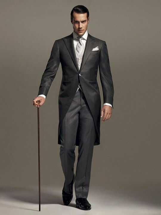 Shades of grey morning dress pinterest classic mens for Men s dressing style for wedding