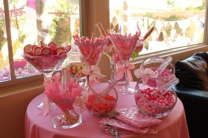Princess Candy Table Candy Table For Princess Tea Party Party Ideas For My Girls Candy Party Princess Tea Party Girls Birthday Party