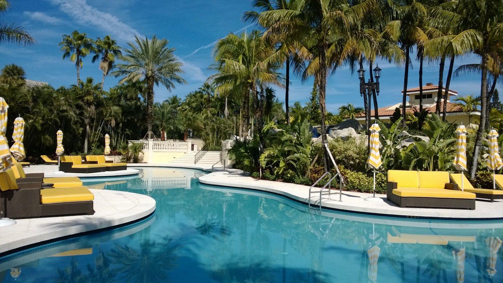 Trump Doral's new Royal Palm Pool. | Pool Day | Florida ...