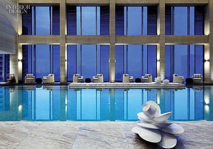 2013 boy winner foreign hotel yabu pushelberg hoteli for Pool design magazine