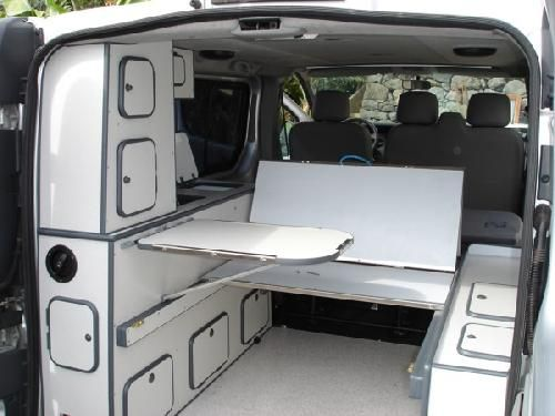 Kit autoinstalable para convertir tu furgo en una for Muebles furgoneta camper