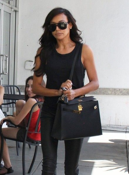 Naya Rivera runs some errands in West Hollywood, California on July 28, 2014