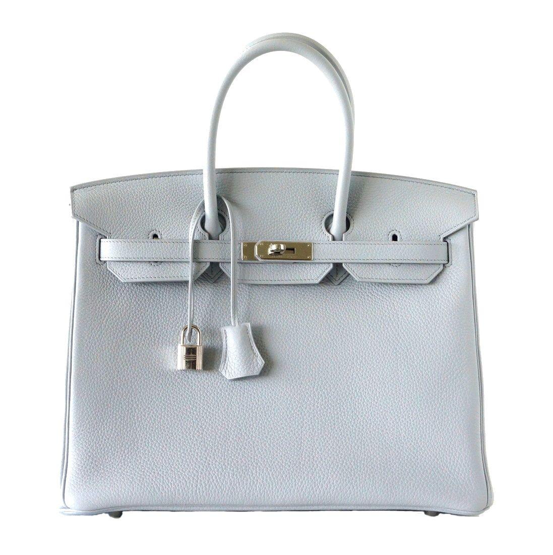 baf56fef01a6 Hermes Birkin Bag 35 Exquisite Bleu Pale Palladium Hardware  hermes ...