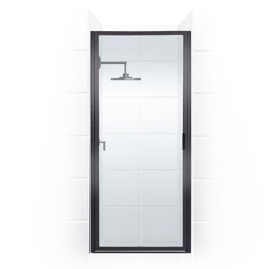 Coastal Shower Doors Paragon 36 In To 36 75 In W Framed Hinged Oil