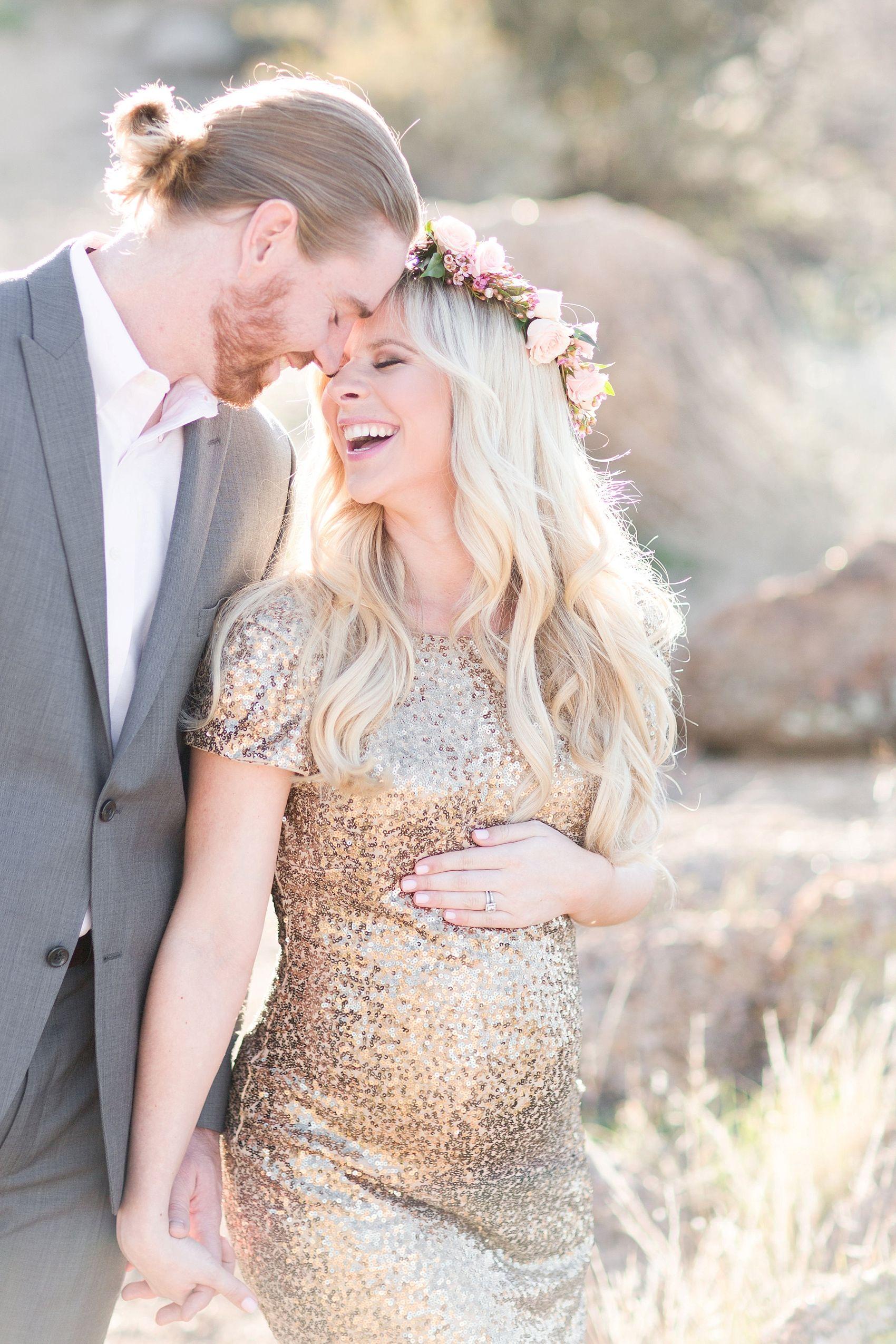 Romantic desert maternity preggas pinterest maternity session