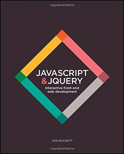 JavaScript and JQuery: Interactive Front-End Web Development by Jon Duckett http://www.amazon.com/dp/1118531647/ref=cm_sw_r_pi_dp_H6pRwb1B6A8SK