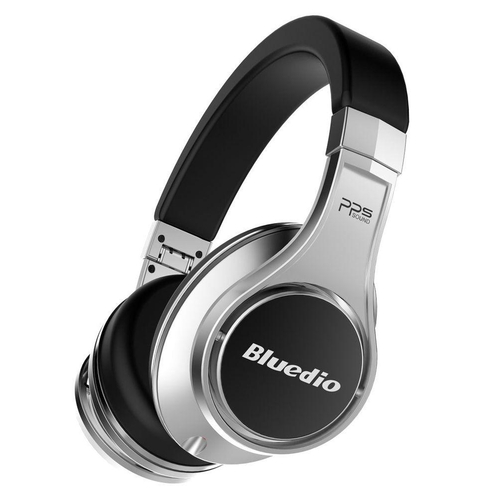 623a33b03065 Bluedio UFO Bluetooth Wireless Stereo Headsets HiFi Headphone 8 Sound  Tracks Mic