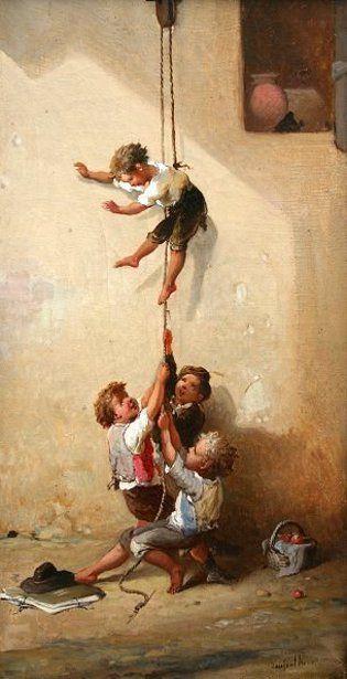 François Louis Lanfant de Metz (1814 – 1892) – Pintor Francês_6