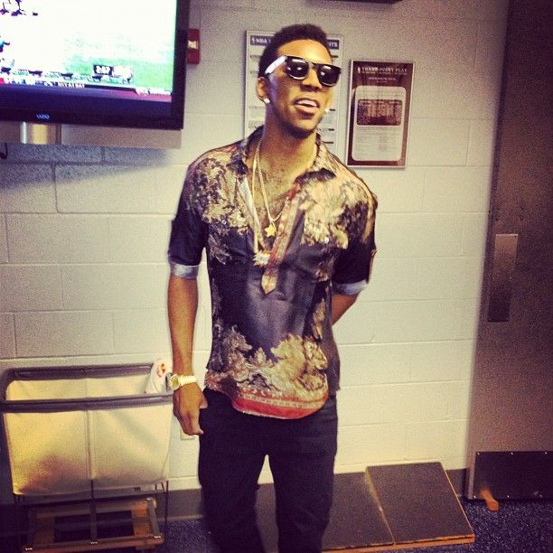 Nick Young Shirting It Up Again Baller Pinterest Nba Style