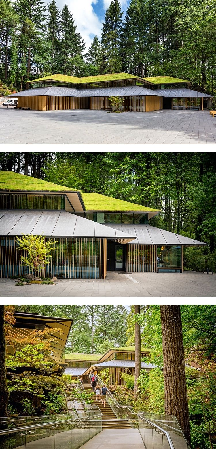 "Japanese Architect Adds EcoFriendly ""Cultural Village"" to Portland's Japanese Garden is part of architecture - The Portland Japanese Garden has been recently expanded to include a new ""cultural village"" designed by Japanese architect Kengu Kumo"