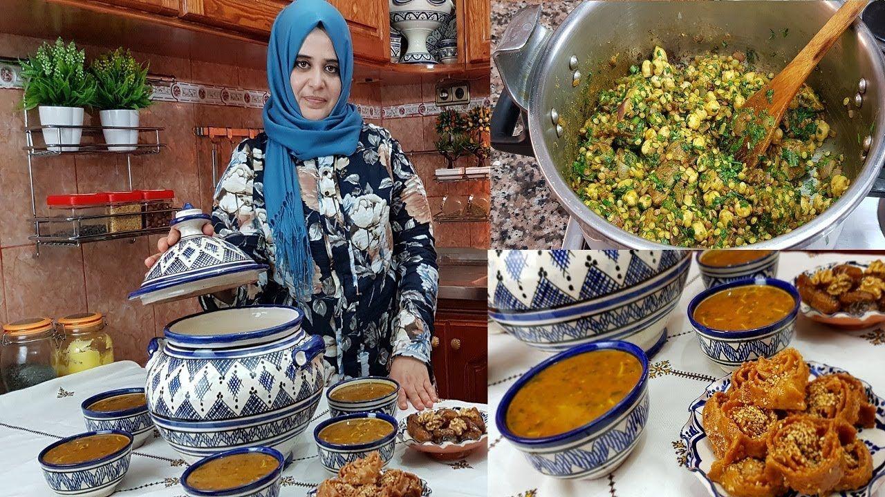 الحريرة المغربية التقليدية على اصولها مع سر لدتها واسرار نجاحها للمبتدئات Youtube Kitchen