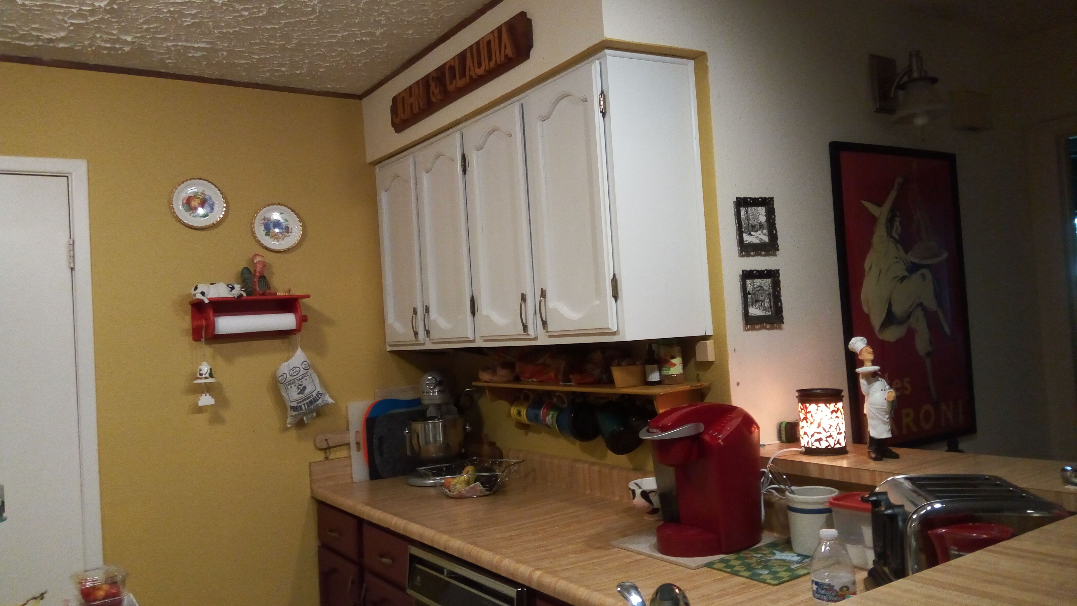Painting My Kitchen Cabinets Recently I Spent About 3 Weeks Painting My Kitchen Cabinets With