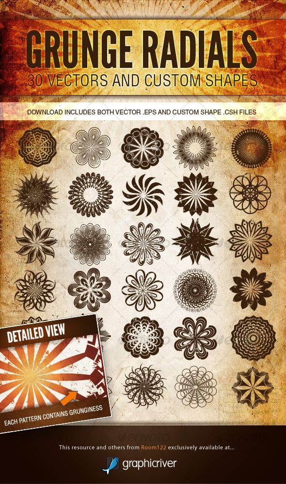 Realistic Graphic DOWNLOAD (.ai, .psd) :: http://jquery-css.de/pinterest-itmid-1000125182i.html ... Grunge Radials - Vector Patterns and Custom Shapes ...  country, dirty, grunge, grunge, grunge, radial, retro, rock, southern, spiral, vector, vintage  ... Realistic Photo Graphic Print Obejct Business Web Elements Illustration Design Templates ... DOWNLOAD :: http://jquery-css.de/pinterest-itmid-1000125182i.html