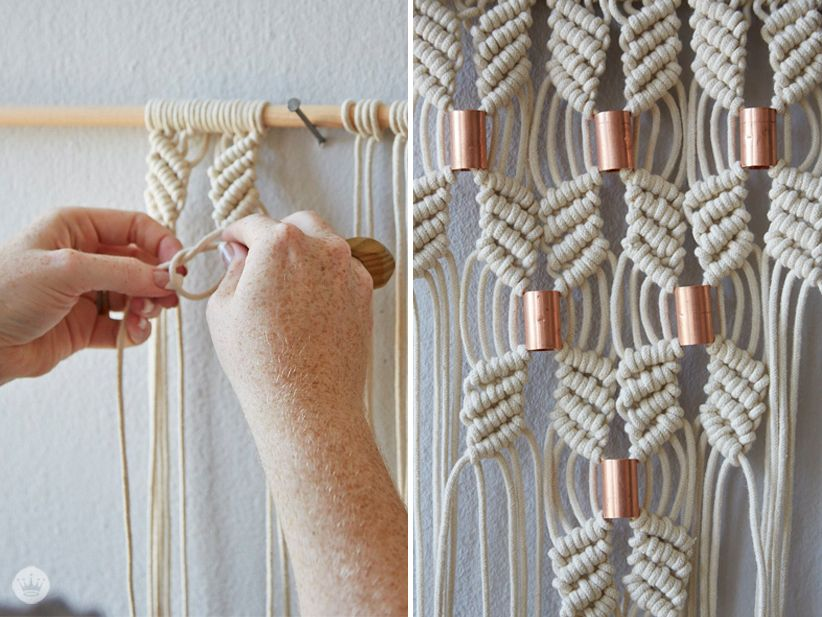 Macrame Rocks A Love Story Macrame Diy Macrame Macrame Patterns