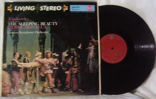 Monteux London ~ Tchaikovsky Sleeping Beauty LP