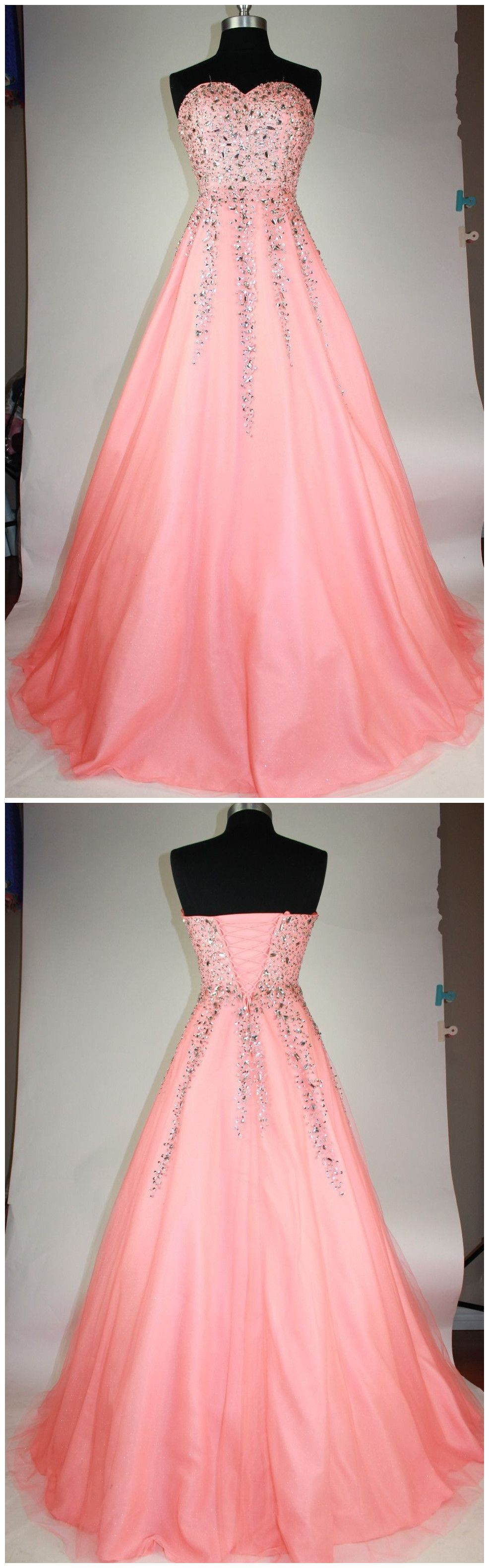 Beading Sweetheart Prom Dress,Long Prom Dresses,Charming Prom Dresses,Evening