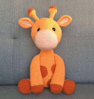 Jirafa amigurumi de crochet - Verkauft durch Direktverkauf - 150499890 | 320x304