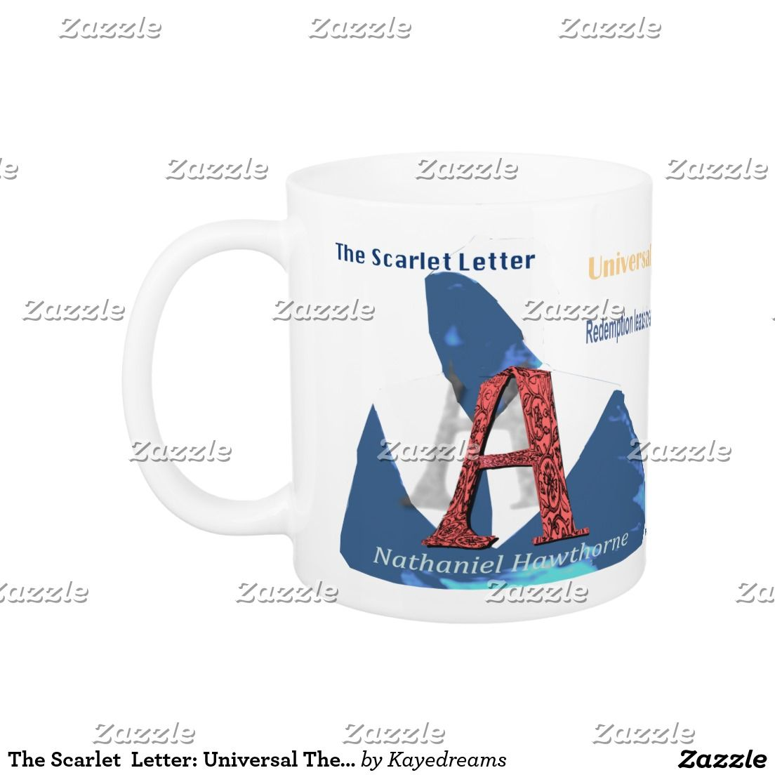 The Scarlet Letter Universal Theme Coffee Mug