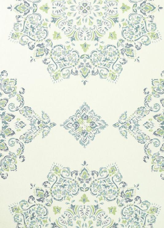 Parvani Wallpaper An Impressive Geometric Wallpaper With Large Scale
