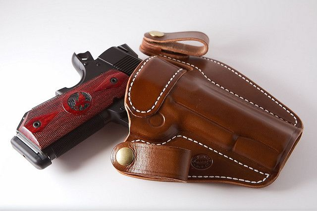 Nice write-up about Milt Sparks holsters, which are one of