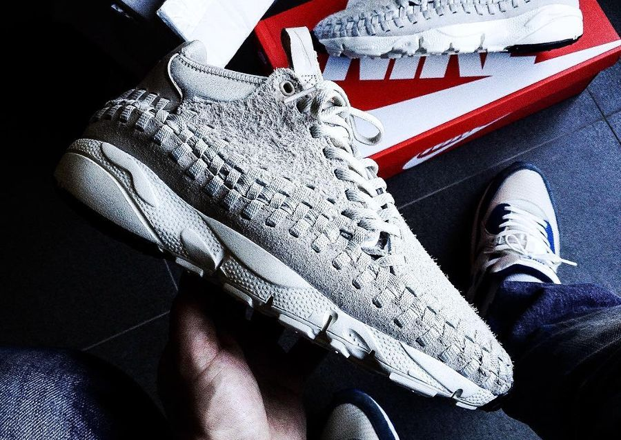 huge selection of 7bd77 59fc5 Nike Air Footscape Woven Chukka QS 'Light Bone' Hairy Suede ...