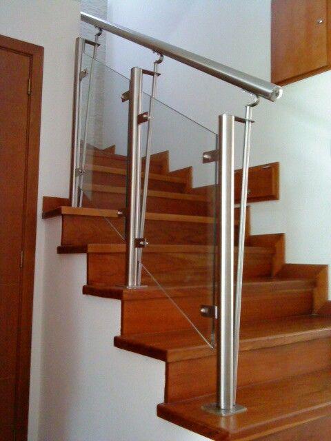 Acero #aceroinoxidable #hierro #hierroforjado #hogar #escaleras ...