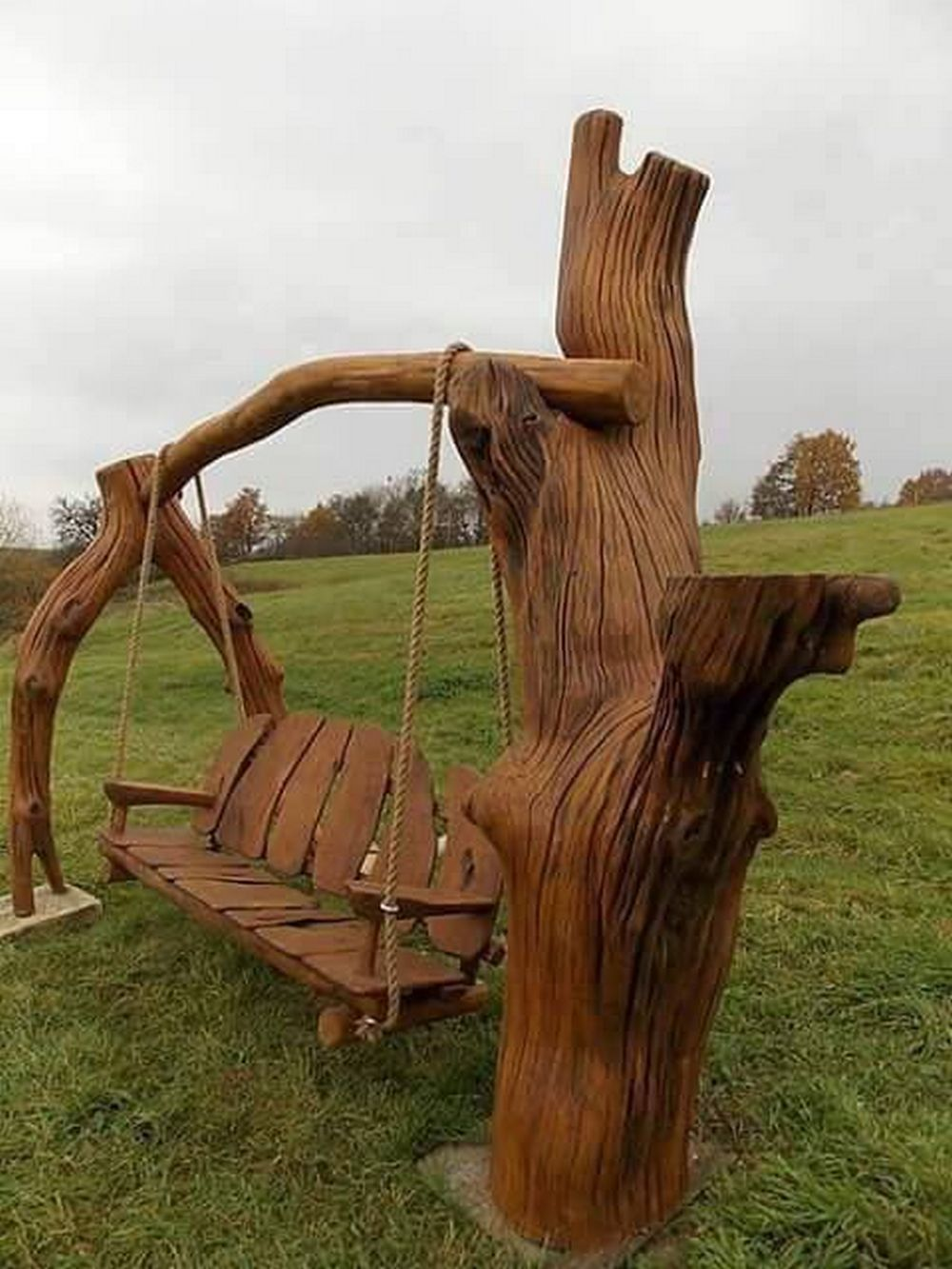 Construct your personal rustic picket swing chair in 2020