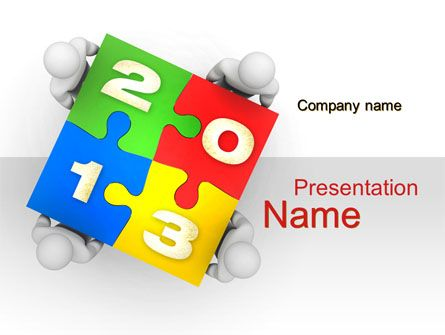 http://www.pptstar/powerpoint/template/new-year-puzzle/ new, Presentation templates