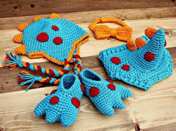 7533473a2d2 Crochet Baby Dinosaur Costume
