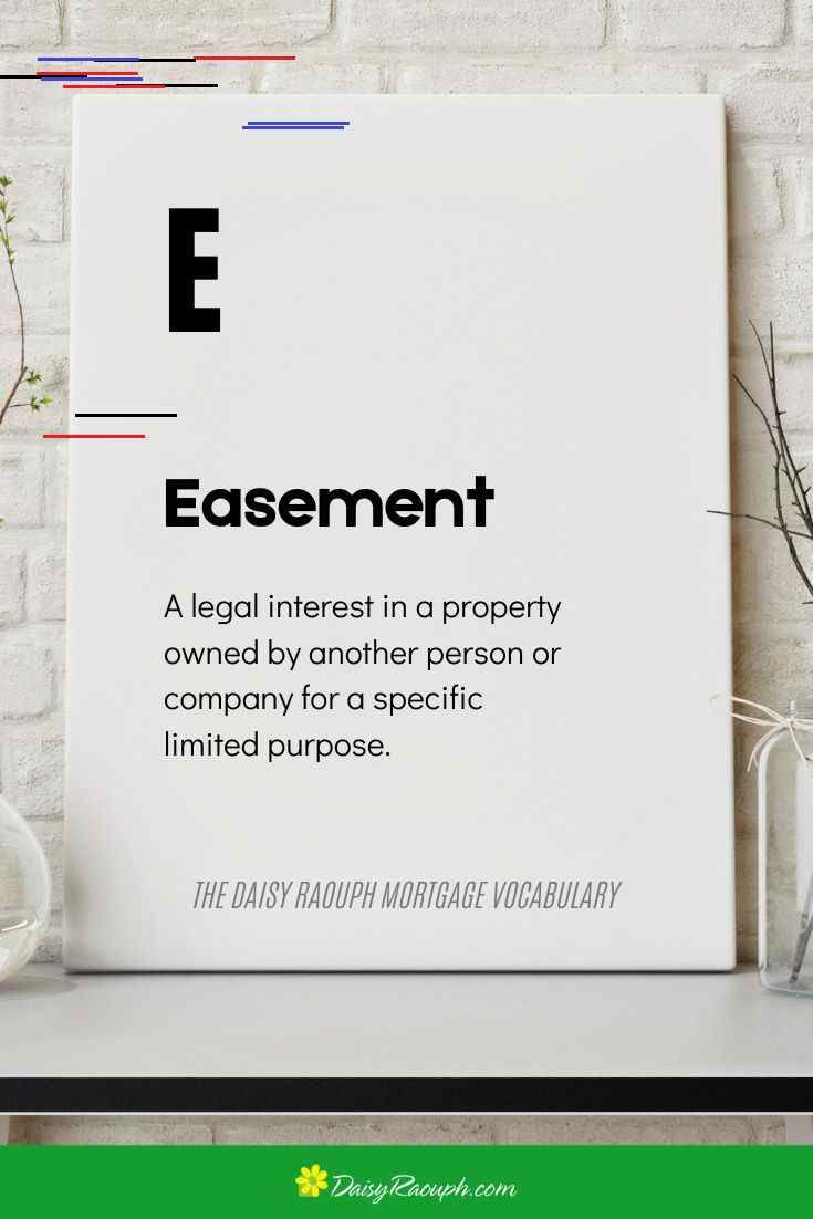 Easement In 2020 Mortgage Humor Mortgage Mortgage Quotes