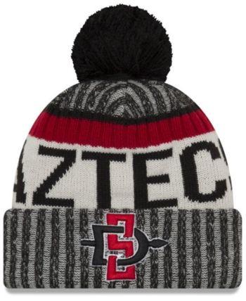 1d266a57f1d New Era San Diego State Aztecs Sport Knit Hat - Red Adjustable ...
